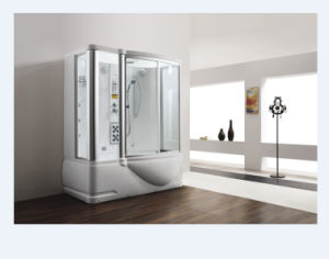 Fashonable Design Rectangle Single Use Steamroom with Bathtub (M-8250) pictures & photos
