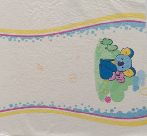 Protective Positioning Printing Lamination Film for Baby Diaper pictures & photos