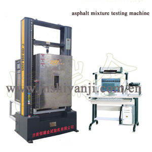 Asphalt Mixture Testing Machine with Environmental Chamber