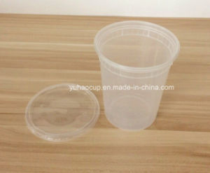 32oz Deli Food Container for Packing with Lids pictures & photos
