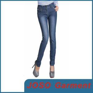 Women Slim Fit Tight Pencil Jeans (JC1060) pictures & photos