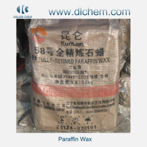 High Quality Kunlun Brand Fully Refined Paraffin Wax52/54/56/58/60/62 #08 pictures & photos