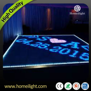 P10cm Disco Panel Acrylic RGB Starlit LED Video Dance Floor for Wedding Night Club T-Stage Wedding pictures & photos