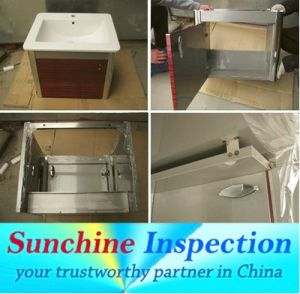 Bathroom Cabinet Inspection Service in China pictures & photos