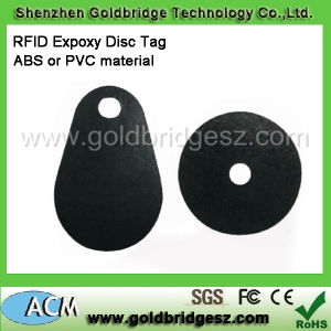 RFID Fr4 Epoxy Epoxy Waterproof Key Tag
