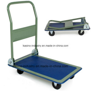 High Quality 150kgs Capacity Folding Platform Hand Truck (pH1501) pictures & photos
