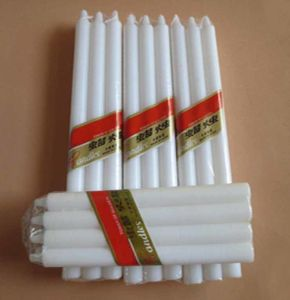 Wholesale Pillar Stick Taper Wax White Household Candles