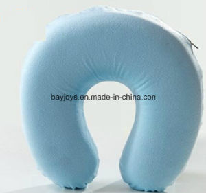 Soft Boa Material Memory Foam Neck Support pictures & photos