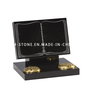 Discount Black Granite Stone Memorial Tombstone & Headstone for Cemetery pictures & photos