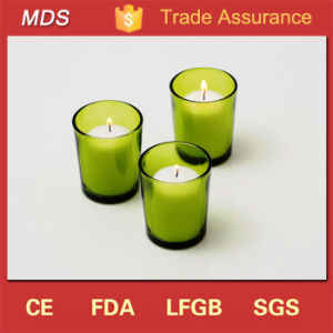 Widely Used Round Green Glass Candlesticks Holders for Sale pictures & photos