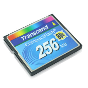 256MB Compactflash CF Memory Card Flash Card Transcend 80X Card pictures & photos