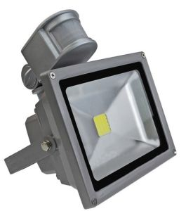 85-265VAC Outdoor 50W LED Flood Light with Motion Sensor PIR (10W, 20W, 30W, 70W, 80W, 100W) pictures & photos