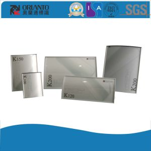 K100 Aluminium Curved Modular Table Sign pictures & photos