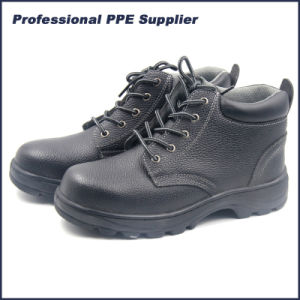 High Quality Genuine Leather Steel Toe Ce Safety Shoes pictures & photos