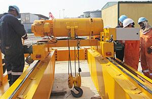 China Leader Manufacturer Double Girder Overhead Bridge Traveling Crane pictures & photos