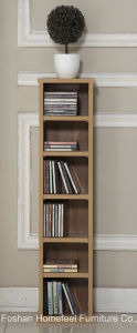 6 Layer Wooden Media Wall Unit CD Storage Shelves (CF02) pictures & photos