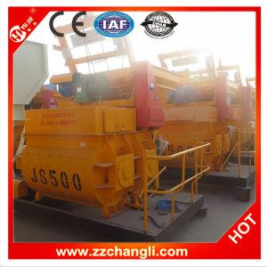 High Efficient Js500 Small Portable Concrete Mixer pictures & photos