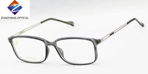 2016 Tr90 Front with Slim Metal Temples Optical Frames pictures & photos
