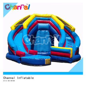 Curve Splash Wet or Dry Slide/ Inflatable Fun Slide Bsl003 pictures & photos