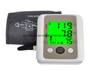 Promotional Backlight Upper Arm Blood Pressure Monitor (BP805) pictures & photos