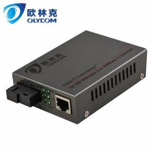 10/100/1000Mbps Wdm Single Fiber 20km Media Converter