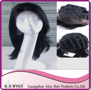 Cheap Price Lace Front Wig 100% Virgin Indian Remy Hair pictures & photos