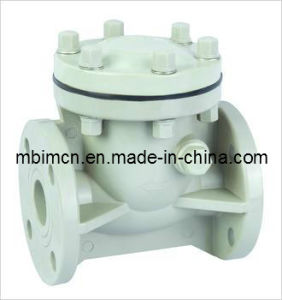 Pph Swing Check Valve Manufactured From China pictures & photos