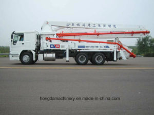 Concrete Pump with Boom -28m pictures & photos
