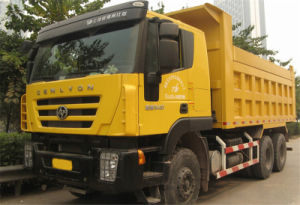 Made in China Iveco Genlyon 6X4 Dump Truck pictures & photos