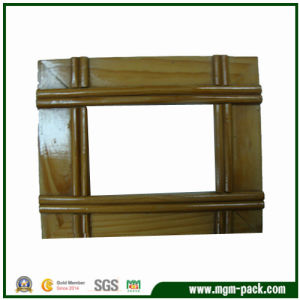 China Manufacturer Brown Wooden Picture Frame for Decoration pictures & photos