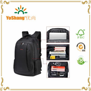 China Wholesale School Waterproof Laptop Backpack Custom Fabric Backpack pictures & photos