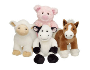 Factory Made Stuffed Cow Animals Custom Plush Toy No Minimum pictures & photos