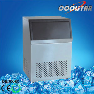 80kg Large Capacity Cubic Type Ice Making Machine Spray Mode Ice Maker (dB/AX-80) pictures & photos