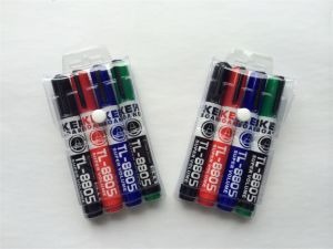 4PCS PVC Bag Packing Whiteboard Marker Pen Set 8805 pictures & photos