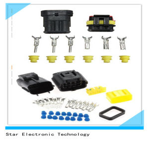 China Factory of 3 Pin 8 Pin Superseal Electrical Automotive Auto Connector pictures & photos