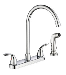 Zf-Kf18 Old-School Style Two Handle Basin Faucet pictures & photos