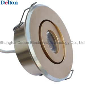 2W Flexible Dimmable Golden Mini LED Ceiling Light (DT-TH-1D) pictures & photos
