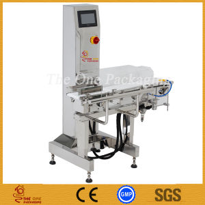 Sainless Steel Weight Checking Machine /Shanghai Port Automatic Check Weigher pictures & photos