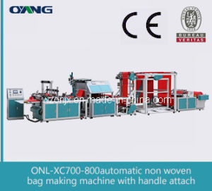 Ounuo 2015 Newest Design of Non-Woven Bag Making Machine Price pictures & photos