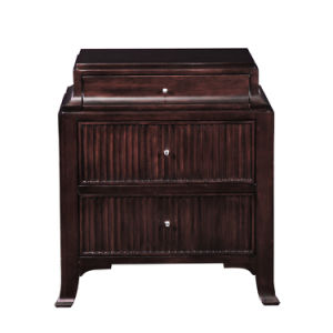 Contemporary Solid Wood Nightstand Era