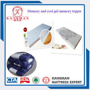 Cool Gel Memory Foam and Memory Foam Topper pictures & photos
