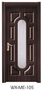 Low Price Excellent Quality Hotsale Melamine Door (WX-ME-105) pictures & photos
