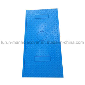 Fiber Reinforced Plastic SMC Composite Cable Cover pictures & photos