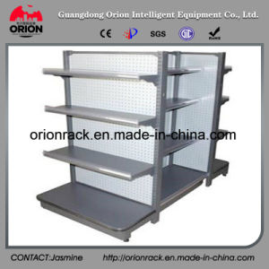 Double Sided Supermarket Storage Rack