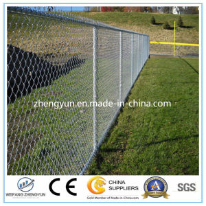 Factory Supply Galvanized Chain Link Fence (100% factory) pictures & photos