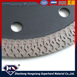 4.5 Inch Circular Diamond Saw Blade for Porcelain and Ceramic Tiles pictures & photos