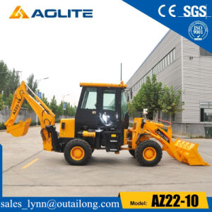 Small Hydraulic Towable Wheel Loader Backhoe with Ce pictures & photos