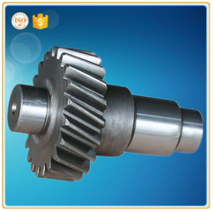 Casting Stainless Steel Transmission Part Gear Shaft for Automobile