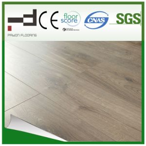 12mm Glossy Surface Series Light Yellow Laminated Floor pictures & photos