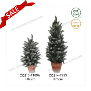 H46-75cm Home Decoration Plants Table Artificial Flower Christmas Tree pictures & photos
